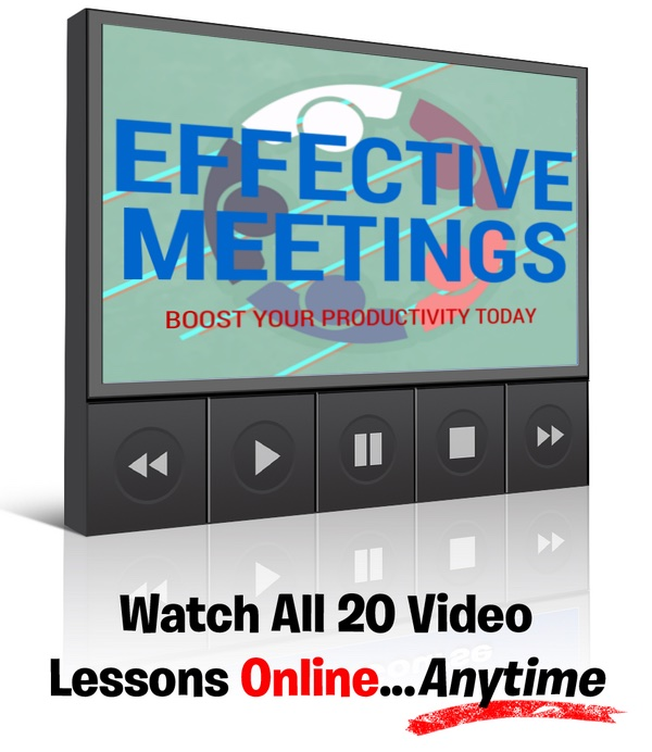 Effective Meetings Video Course